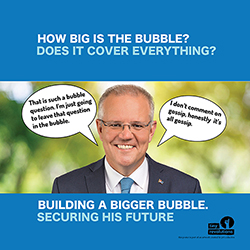 scomo bubble poster