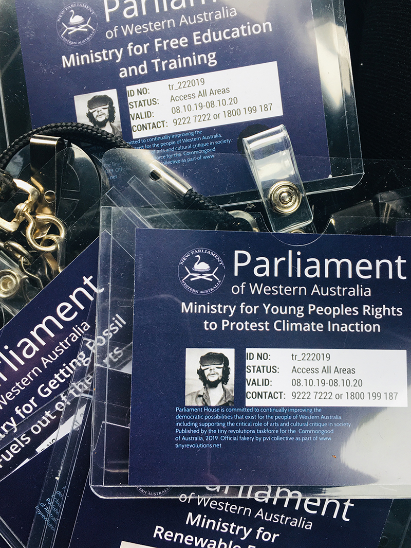 parliament of western australia lanyards