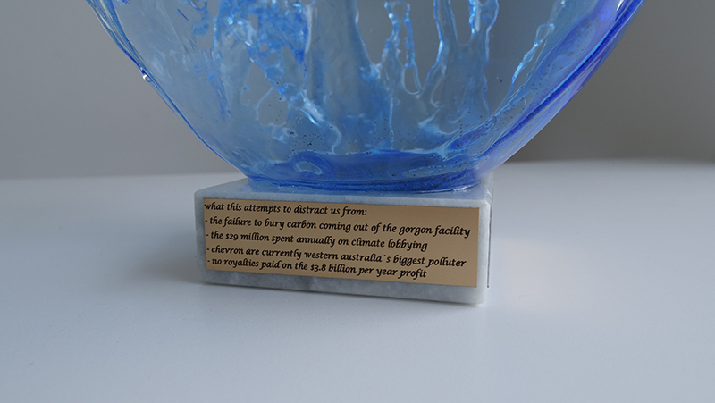 artwash award plaque 2019
